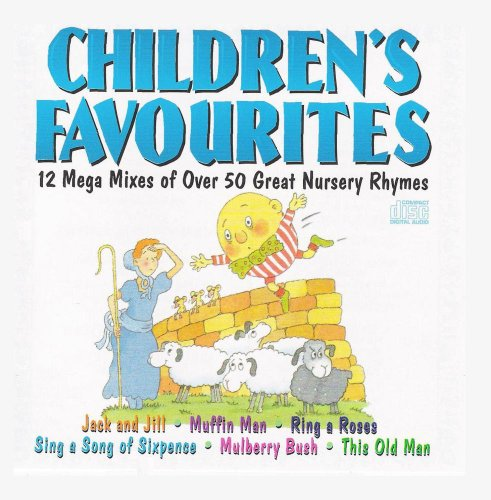 Children's Favourites - 12 Mega Mixes of over 50 Great Nursery Rhymes