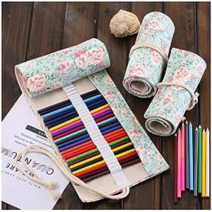 Amazon.com: WCHUANG - Organizador de lápices de lona para ...