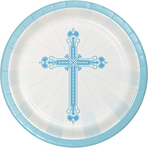 (Creative Converting 18 Count Sturdy Style Round Paper Plates, 7