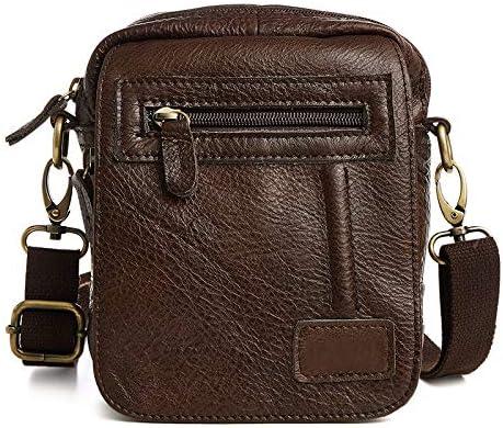 NKns Best Sellers Leather Mens Bag Shoulder Bag For Meng Crossbody Messenger Bag Mens Pockets: Amazon.es: Deportes y aire libre