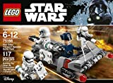 LEGO Star Wars First Order Transport Speeder Battle Pack 75166 Building Kit