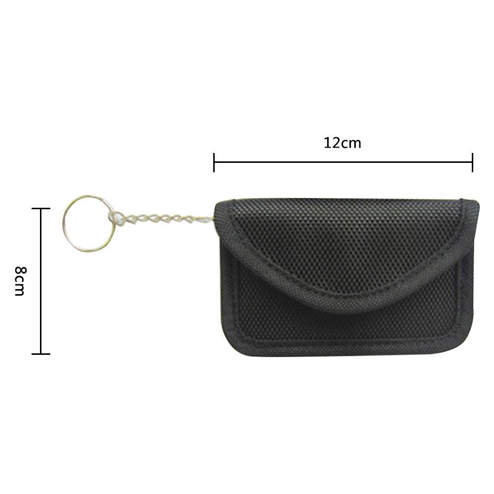 487786490e79 Junda Faraday Bag for Keyfobs Signal Blocking Bag Shielding Pouch ...