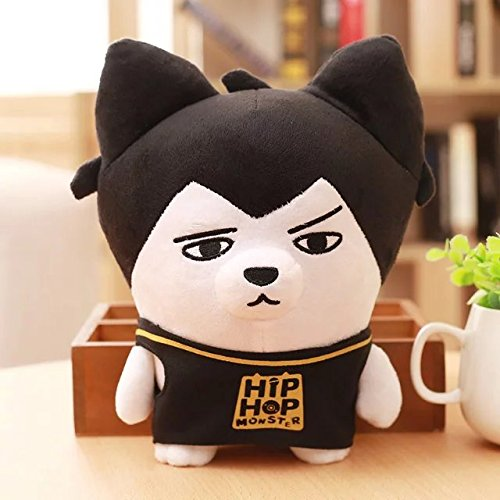 nemoyard BTS Kpop Bangtan Boys Funny HipHop Monster Character Cute Plush Doll (JIN, 8.5inch)