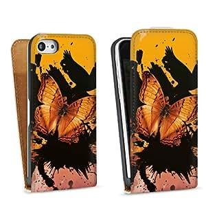 Diseño para Apple iPhone 5C DesignTasche Downflip white - Butterfly Effect