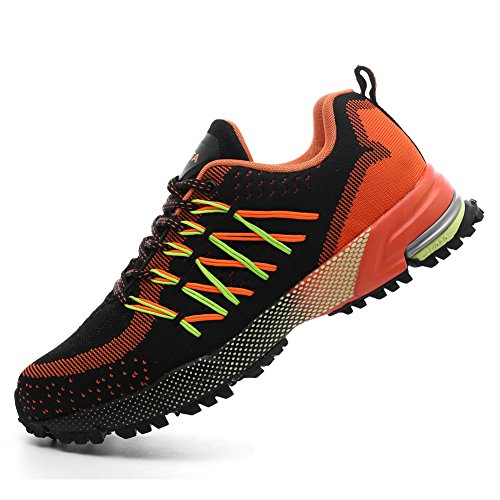 Sport Leisure Outdoor Breathable Shoe QZbeita Sneaker For Man Orange