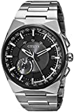 Citizen Men's CC2006-61E Satellite Wave F100 Analog Japanese Quartz Grey Titanium Watch