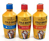 Gevalia Kaffe Cold Brew Iced Coffee Concentrate 32oz Bottle (3 Flavor Variety Pack)