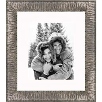 Amazon.com - Crinkled Silver picture frame 20X24 - Single Frames