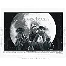 """1999 Press Photo Pepe Animal Gonzo and Rizzo in """"Muppets From Space"""" - DFPG83779"""
