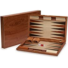 Rosewood Backgammon Game Set, 19 Inches
