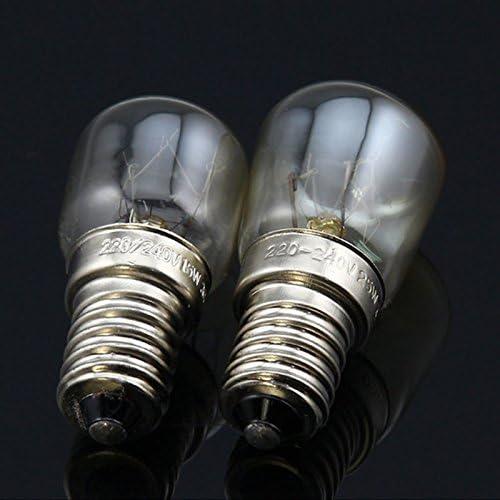 Hanbaili E14 25W 220V ~ 240V Ofen Glühbirne Ofen Lampe Hitzebeständige Glühlampe 300 ° C