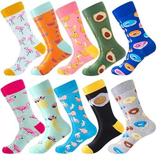 Men Socks Gift Groomsmen Socks Men Theme Gift Set with 4 Pairs Pack of 4 Novelty Socks for Men Everyday Socks Funky Socks Crazy Socks