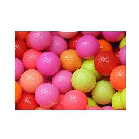 PGM Pelota de Golf, Pelota de práctica de Color, Pelota de Juego ...