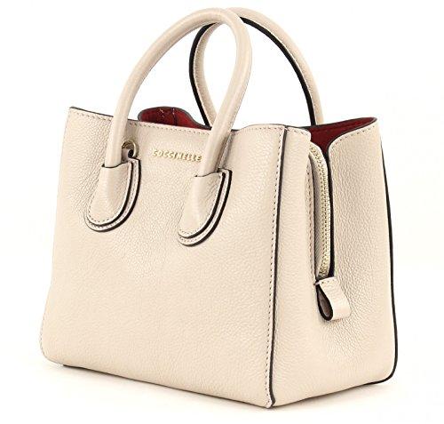 Coccinelle Mini Bag bolso de mano piel 20 cm Seashell / Merlot (Beige)
