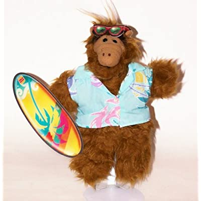 Coleco The Many Faces of Alf: Plush Surfer Hand Puppet: Toys & Games