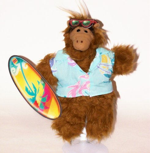 Coleco The Many Faces of Alf: Plush Surfer Hand Puppet