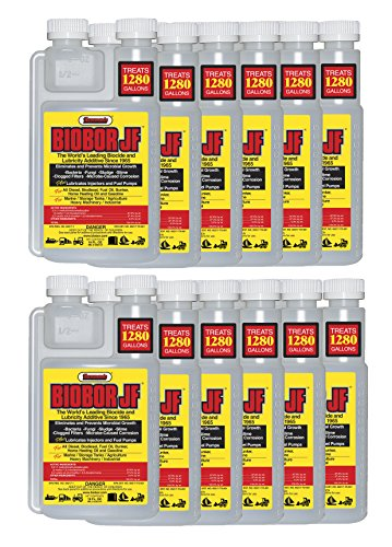 Biobor JF Diesel Fuel Biocide, 16-Ounce, 12-Pack by Hammonds