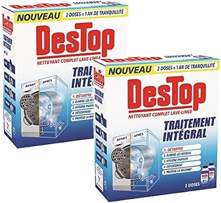 Destop completa Limpiador 500ml lavadora - Juego de 2: Amazon.es ...