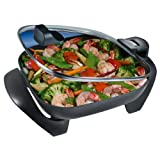 Rival SH12 12-inch Skillet With Hinged Lid