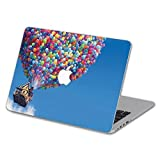 Customized Creative Cartoon Series Colorful Balloon House Special Design Water Resistant Hard Case for Macbook Air 13'' (Model A1369/a1466)