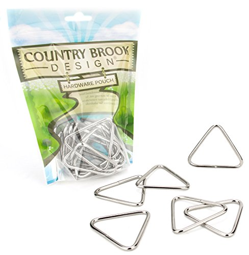 10 - Country Brook Design | 2 Inch Welded Triangle Rings