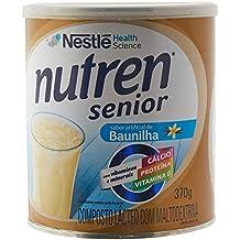 Suplemento Alimentar Baunilha Nutren Senior 370g