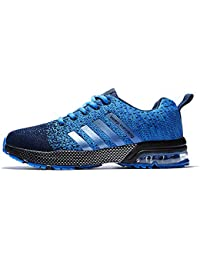 Mens Womens Running Shoes Air Cushion Sneakers Lightweight Athletic Tennis Sport Shoe for Men.