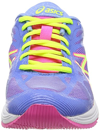 ASICS Gel-DS Trainer 20 - Zapatillas de deporte para mujer Azul (Powder Blue/Flash Yellow/Hot P 4707)