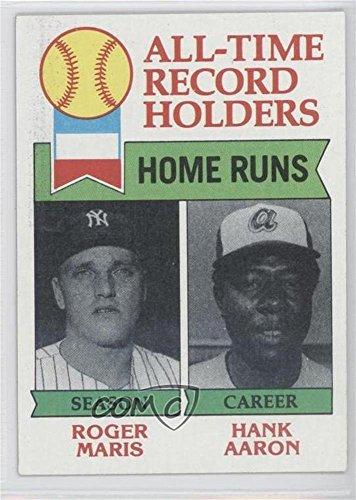 Hank Aaron; Roger Maris (Baseball Card) 1979 Topps - [Base] #413