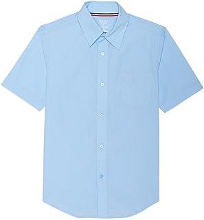 French Toast Little Boys' Short Sleeve Poplin Dress Shirt French Toast Boys 2-7 Uniforms SE9005