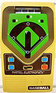 Original 1978 Mattel Electronics Handheld Baseball Game