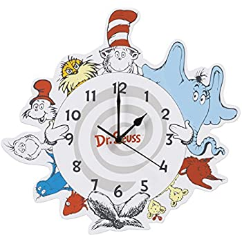 Amazon Com Trend Lab Dr Seuss Wall Clock One Fish Two