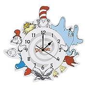 Trend Lab Dr. Seuss Friends Wall Clock, Multi