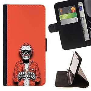 Dragon Case - FOR Samsung Galaxy S5 V SM-G900 - Things change quickly - Caja de la carpeta del caso en folio de cuero del tirš®n de la cubierta protectora Shell