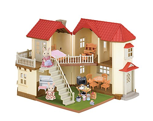 Lakeside Lodge - Calico Critters Luxury Townhome Gift Set