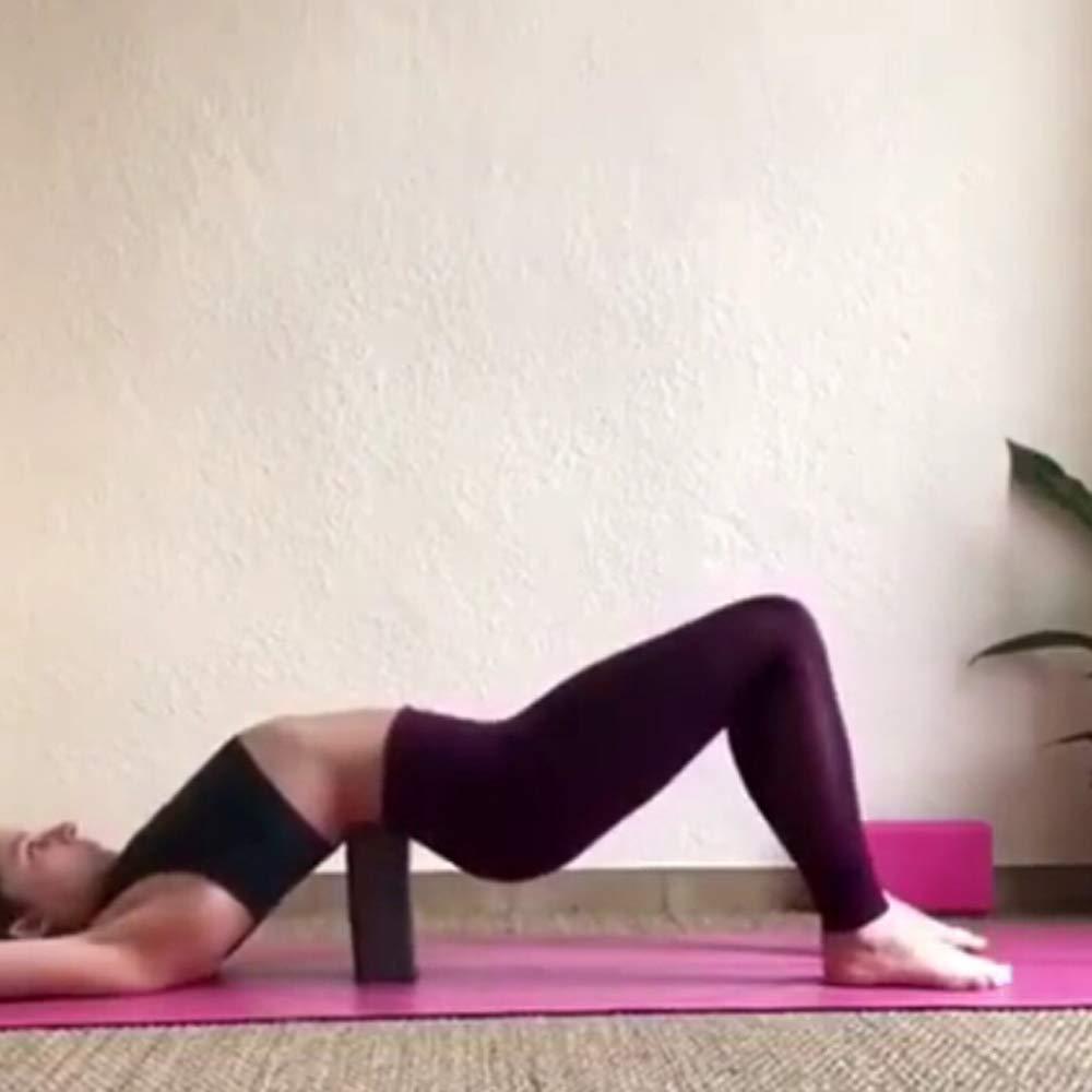 LANVY Bloques de Yoga Compensación de Alta Densidad ...