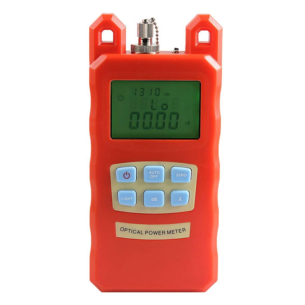 SM SunniMix -70dBm~+10dBm 850~1625nm Optical Power Meter Tester FC SC Handheld Optical Power Meter + with 30mW Visual Fault Locator by SM SunniMix (Image #9)