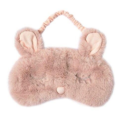 Ayygiftideas New Fashion Plush Rabbit Eye Mask Cute Sleeping Blindfold Eye Cover by Ayygiftideas (Image #1)
