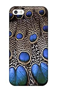 Hot Gorgeous Feathers First Grade Tpu Phone Case For Iphone 5/5s Case Cover