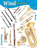 Music Treasures Co. Wind Instruments Poster Pack of 2