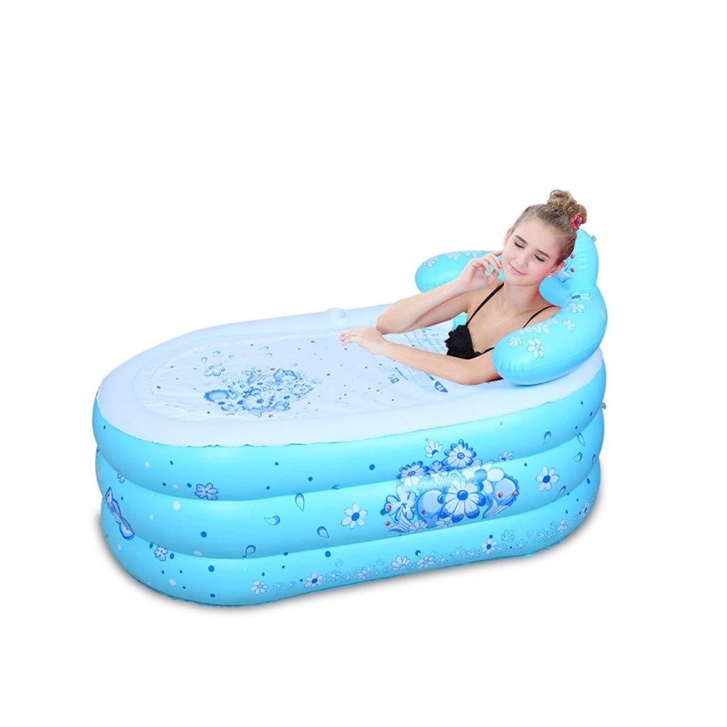WYP Folding Bathtub, Portable Bathtub/Plastic Bathtub/spa Bath/Jacuzzi (Size : 1609075cm)