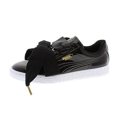zapatillas puma mujer negras charol