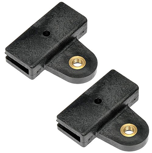 APDTY 134586 Window Glass Regulator Guide Clip Pair Fits Front Left or Front Right 2001-2017 Honda Accord (Repairs 73300-S82-A02, 73300-T3L-A00, 73350-S84-L01, 73350-T2A-A10, 73350-T3L-A00)