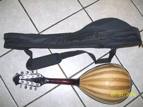 Mandolin soft case, for Round back mandolin