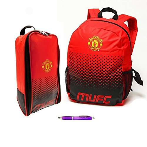 - Back to School with Manchester United FC Backpack And Boot Bag