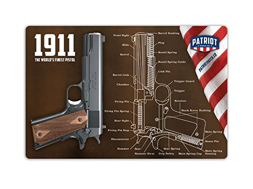 Patriot Patch Co - 1911 Mouse Pad - Cleaning Mat (Gun Mat 1911)