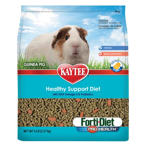 Kaytee Forti Diet Pro Health Food for Guinea Pig, 5-Pound, My Pet Supplies