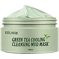 Holmeey Groene thee zuiverende klei masker anti-acne diepte reiniging poriën krimpen hydraterende peeling masker olie…