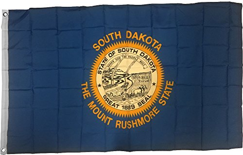 New 3x5 South Dakota State Flag US USA American Flags