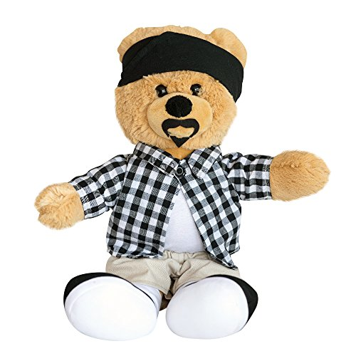 Hollabears Cholo Teddy Bear Plush - Funny and Cute Gift Idea for the Girlfriend, Boyfriend, or Friend